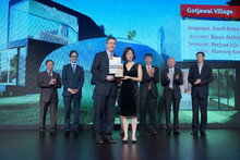 MIPIM ASIA 2013 - NETWORKING EVENTS - AWARDS GALA DINNER - GOTJAWAL VILLAGE - SOUTH KOREA - SPECIAL JURY AWARD - BEST FUTURA PROJECT