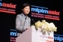 MIPIM ASIA 2013 - OFFICIAL WELCOME SPEECH BY OUR GUEST OF HONOUR - CARRIE LAM CHENG YET-NGOR